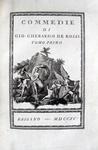 De Rossi - Commedie - 1790