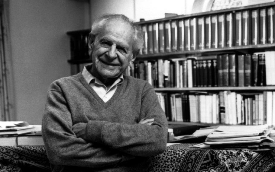 Karl Popper - La fonte più importante della nostra conoscenza è la tradizione