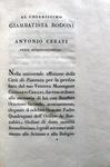 La genesi, versione di Gregori Cerati (edizione Bodoni) - 1807