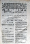Decisiones rotae provinciae Marchiae