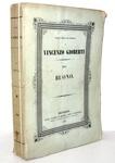 Vincenzo Gioberti - Del buono - Bruxelles 1843 (prima edizione)