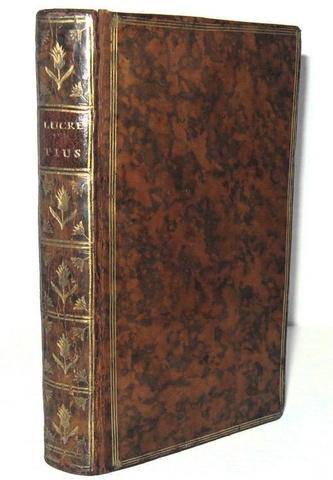Titus Lucretius Carus - De rerum natura libri sex - Lutetiae Parisiorum 1754 (con 7 tavole)