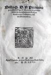 Blado - Bolla di Pio V sulle prerogative degli ecclesiastici