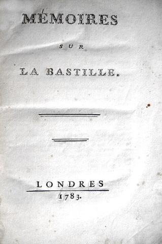 Linguet - Memoires