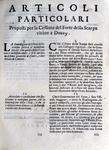 Guerra di successione spagnola: Articoli proposti per consegnare la città di Douay agli alleati - Milano 1710