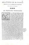 La diplomazia nel Cinquecento: Sansovino - Le orazioni recitate ai Dogi dagli ambasciatori - 1562