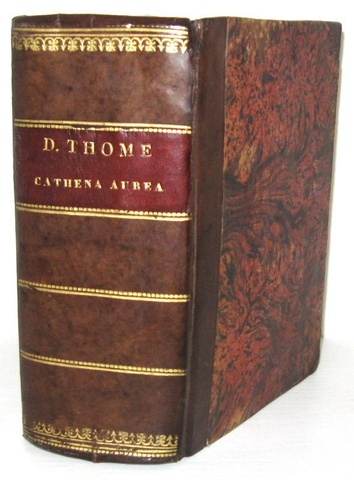 Una magnifica edizione giuntina lionese: San Tommaso d'Aquino - Cathena aurea - Lyon 1530