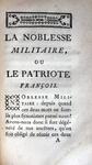 Abbé Coyer - Noblesse commercante, militaire - 1756