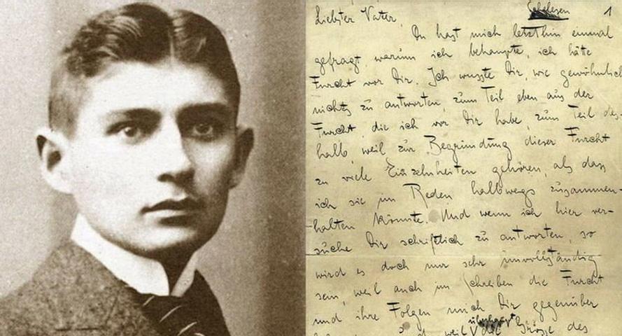 Franz Kafka - Lettera al padre (incipit)