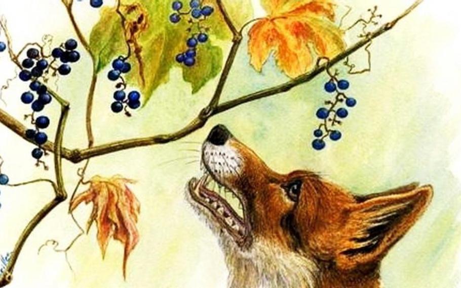 Esopo - La volpe e l'uva