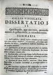 Celestino Sfondrati - Gallia vindicata - 1687