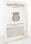Bolla di Pio V sugli assassini e i rivoltosi - Roma, Blado 1566