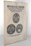 Pio V conferma alla Camera Apostolica il cardinale Alessandro Riario - Roma, Blado 1566