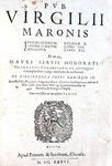Virgilius - Bucolicorum, Eclogae, Georgicorum & Aeneidos - 1636 (magnifica legatura alle armi)