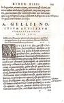 Una bella cinquecentina lionese: Aulus Gellius - Noctes Atticae - Lugduni, Gryphius 1546