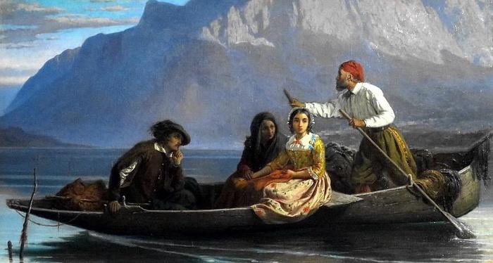 Alessandro Manzoni - L'addio ai monti di Lucia