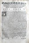 Bolla di Pio V su banditi, facinorosi e assassini