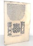 Moto proprio di Pio V sul funzionamento della Camera Apostolica - Roma, Blado 1567