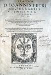 Gianpietro Ferrari - Practica per totum orbem celebratissima - 1562