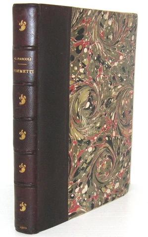 Giovanni Pascoli - Poemetti. Seconda edizione raddoppiata - 1900 (raro, edizione in parte originale)