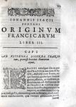 Johan Isaac Pontanus - Originum Francicarum libri VI - 1616