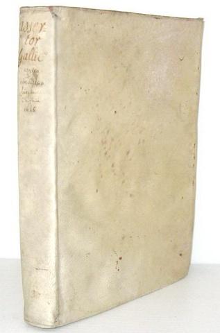 Francia contro Spagna: Dominicy - Assertor Gallicus contra vindicias Hispanicas - 1646 (prima ediz.)
