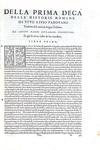 TIto Livio - Le Deche delle historie romane - Venezia, Giunti 1554 (bellissima edizione in folio)