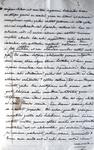 Interessante manoscritto di filologia latina: Tommaso Vallauri - De literis latinis oratio - 1835