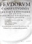 Corpus iuris civilis in IV partes distinctum - 1652