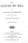 Baudelaire - Les fleurs du mal - 1872 - Complément aux Fleurs du mal - 1869 (rara prima edizione)