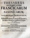 Diritto pubblico imperiale e politica: 6 prime edizioni edite tra il 1685 e il 1713