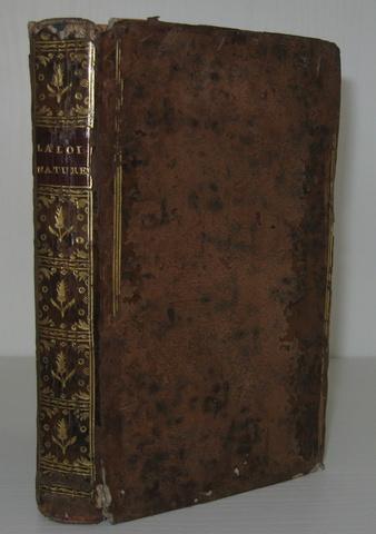 Claude Roussel - Loi naturelle - 1769 (prima edizione)