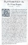Uomini illustri nell'antica Roma: Plinio il Giovane - De gli huomini valorosi et illustri - 1548
