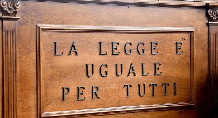 Piero Calamandrei - La legge non è uguale per tutti