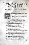 Julius Caesar Scaliger (ritratto da edizione seicentesca)