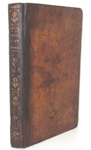 Rousseau - Lettre à d'Alembert sur le projet d'établir un théatre a Genève - 1758 (prima edizione)