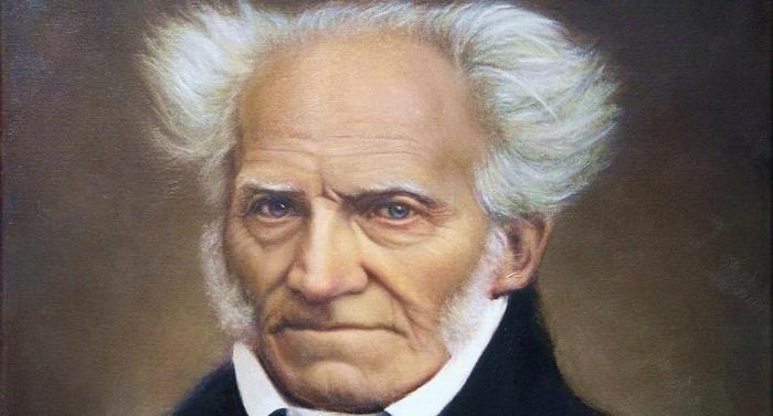 Arthur Schopenhauer - Nella vita umana la parte esterna è ricoperta di un falso scintillio