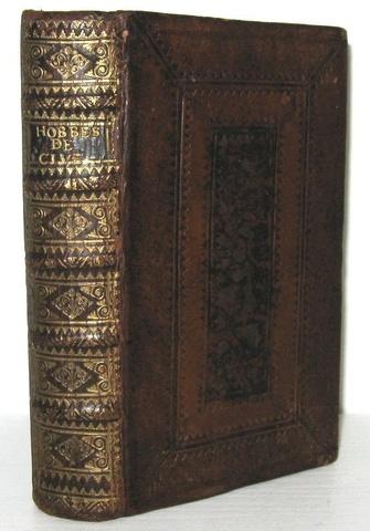 Un classico del pensiero politico: Thomas Hobbes - Elementa philosophica de cive - Amsterdam 1696