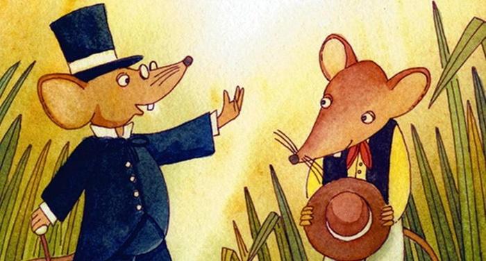 Esopo - Il topo di città e il topo di campagna