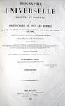 Dizionario biografico universale: Biographie universelle ancienne et moderne - 1851 (oltre 11.000 pagine!)