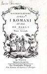 Roma e gli antichi Romani: Mably - Osservazioni sopra i Romani - 1766 (prima edizione italiana)
