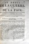 Grotius - Barbeyrac - Le droit de la guerre et de la paix - 1724