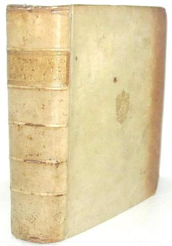 Un rarissimo incunabolo: Gregorio IX - Decretales - Venezia 1482 (legatura alle armi di papa Pio VI)
