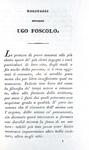 Ugo Foscolo - Ultime lettere di Jacopo Ortis - Londra 1829 (bellissima legatura coeva)