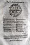 Bolla di papa Pio IV sulla Camera Apostolica - Roma, Blado 1562