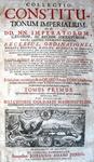 Goldast - Collectio constitutionum imperialium - 1713 (video)