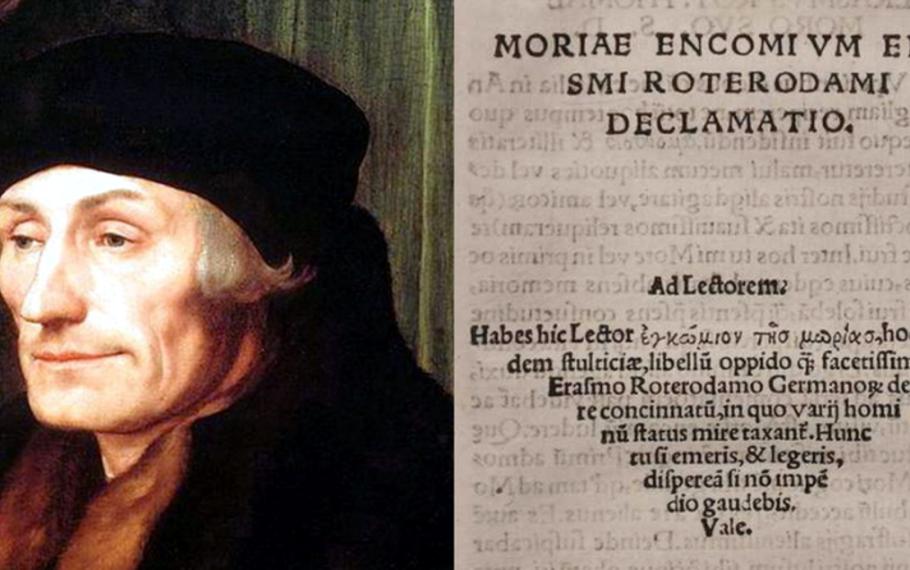 Erasmo da Rotterdam - Elogio della follia - 1508