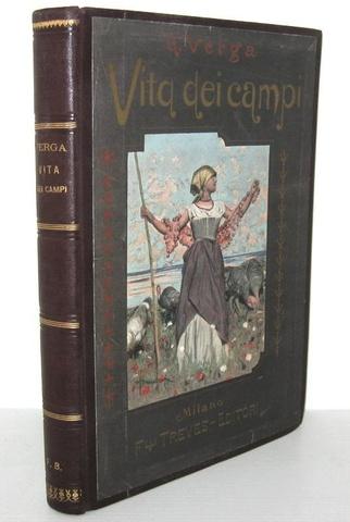 Magnifico figurato: Giovanni Verga - Vita dei campi. Novelle illustrate da Arnaldo Ferraguti - 1897