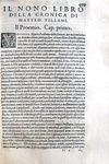 Storia fiorentina: Matteo Villani - Historie fiorentine - Firenze - Giunti - 1577/81