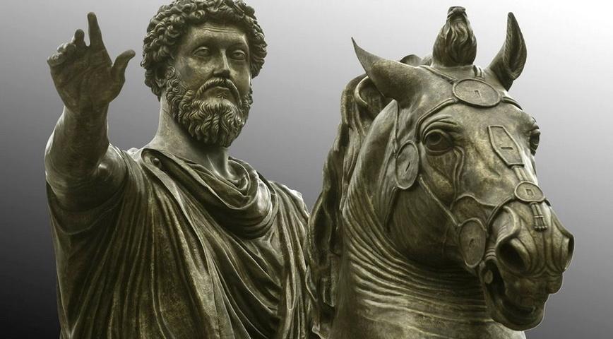 Marco Aurelio - Bisogna costruirsi la propria vita azione per azione